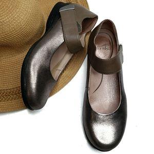 Dansko Audrey Pewter Mary Jane Shoes 38